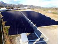 太陽光発電所(白石市)
